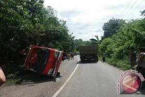 Mobil PBK kecelakaan satu korban tewas