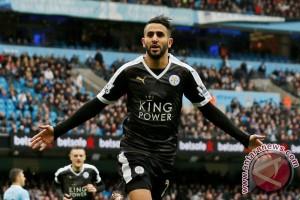 Pemain baru City Mahrez targetkan juara Liga Champions