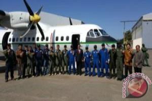 Pesawat CN-235 buatan indonesia tiba di Dakar