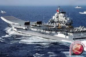 """Al Tiongkok: """"Liaoning"""" di selat  Taiwan untuk latihan"""