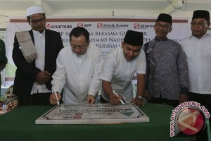 APP-Sinarmas renovasi masjid di Desa Tirtosari Sumsel