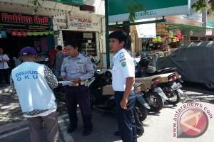 Dinas perhubungan tertibkan lahan parkir di Baturaja