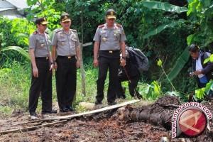 "Kapolda Sumsel tinjau lokasi ""illegal tapping"""