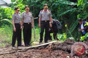 Polisi amankan tersangka ilegal tapping di Palembang