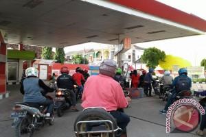 Konsumsi BBM di Sumsel naik selama lebaran