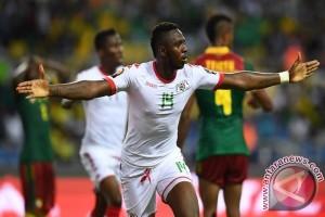 Burkina Faso bermain imbang 1-1 dengan Kamerun