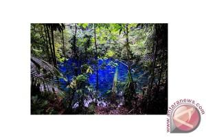 Telaga biru Samares objek wisata khusus Biak