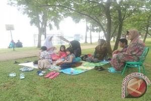 Danau Jakabaring Palembang jadi favorit rekreasi keluarga