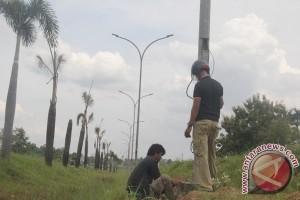 DPPJP pasang 187 titik lampu jalan kurangi kerawanan