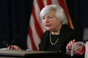 Wall Street berakhir bervariasi di tengah pernyataan Yellen