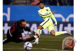 Neymar harus absen saat Barca menghadap deportivo