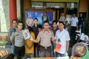 Polisi amankan dua begal bersenjata api