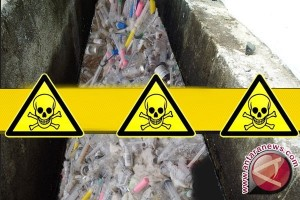 Tim temui titik terang limbah medis pantai