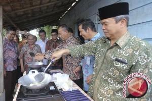 32 ribu warga Prabumulih masak gunakan gas