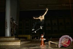 Permainan Skateboard digemari Remaja Palembang
