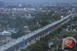 Progres Pembangunan LRT Palembang