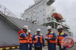 Peresmian Dermaga Loading - Unloading Pertamina RU III