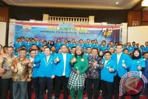 Kepengurusan DPD KNPI Kota Palembang resmi dilantik