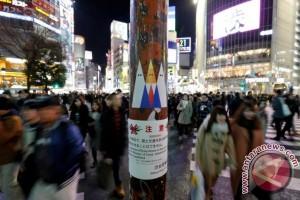 Seniman Jepang kritik Trump melalui grafiti