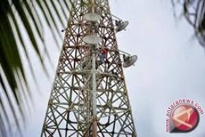 Bangka segel menara telekomunikasi Telkom