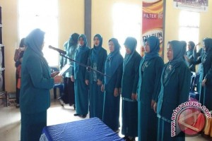 TP PKK tingkat desa Kecamatan KPR dilantik
