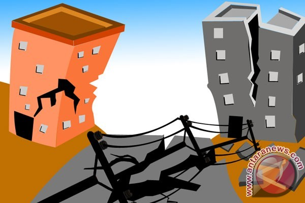 Sejumlah bangunan rusak di Lembata akibat gempa