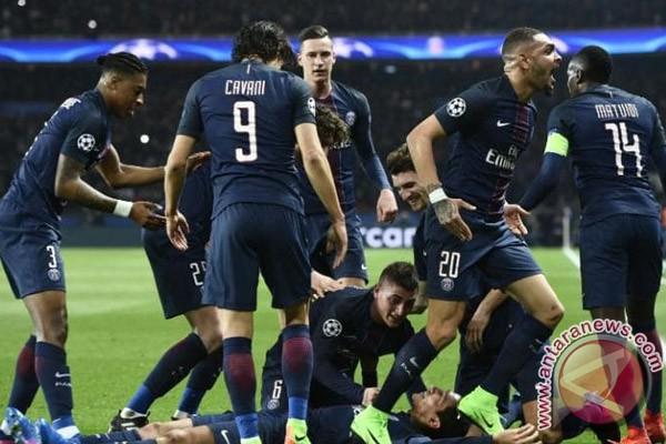 PSG raih kemenangna 2-1 Atas Lorient