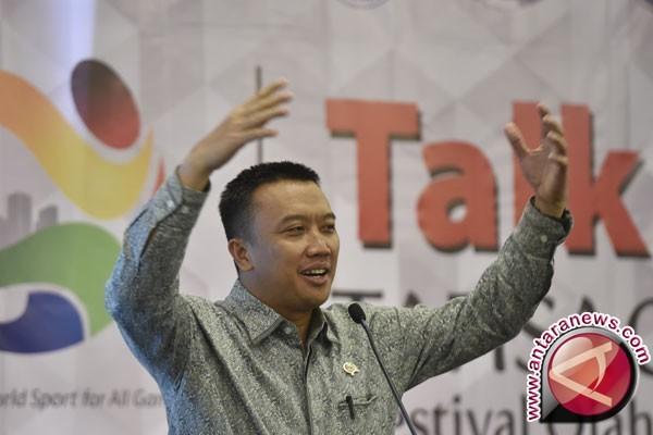Menpora: MAsyarakat Indonesia jangan malas bergerak