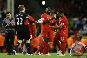 Liverpool melaju ke fase grup liga Champions
