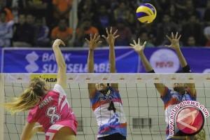 Popsivo Polwan akhiri seri Palembang dengan kemenangan