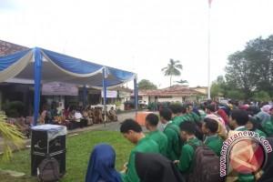 Mahasiswa UIN Raden Fatah KKN di Banyuasin