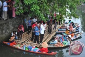 Pemkot Palembang hidupkan kembali Pasar Terapung