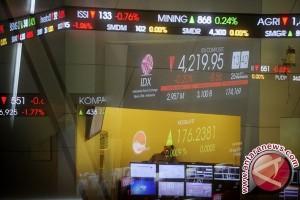 IHSG Bursa Efek Indonesia ditutup melemah