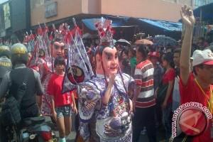 Ondel-ondel Taiwan meriahkan Cap Go Meh