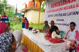 Pertamina sosialisasi gas 5,5 kg di Banyuasin
