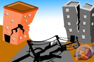 Gempa kembali landa Kota Padang Sidimpuan