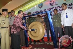BKKBN Sumsel pantau perkembangan kampung KB