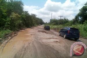 Warga Ogan Ilir minta jalan provinsi diperbaiki