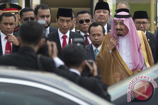 Presiden Jokowi akan ajak Raja Salman keliling istana