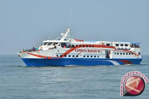 Pelayanan kapal cepat Palembang-Bangka empat kali sepekan