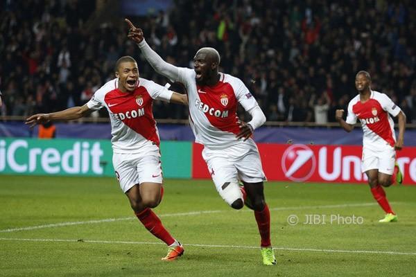 Mbappe dan Falcao kirim Monaco ke semifinal