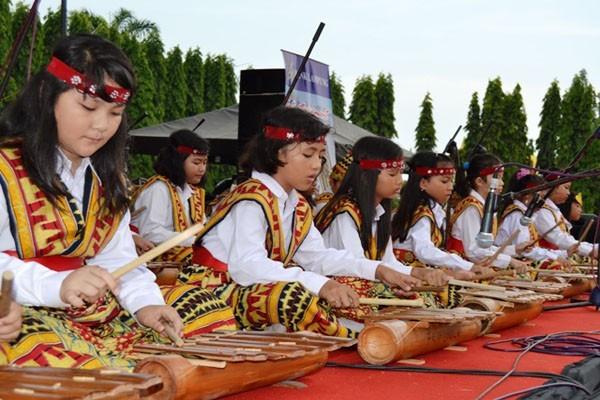 Workshop musik etnik digelar di Lampung