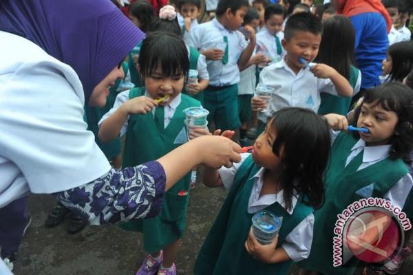 PDGI ajak 1.000 anak TK bersihkan gigi