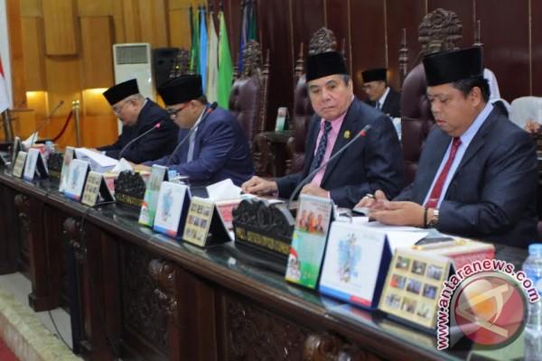 DPRD Sumsel belum setujui dua Raperda