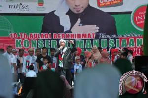 Konser Kemanusiaan Opick di Palembang