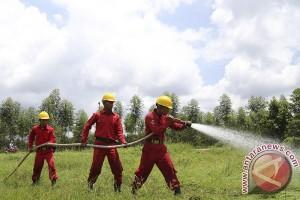 Simulasi Pemadam Kebakaran Hutan