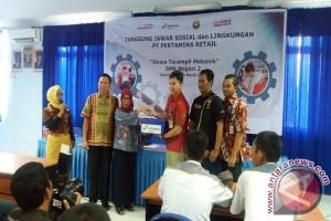 Pertamina Retail ajak siswa Palembang terampil mekanik