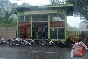 Potensi Hujan di Sumsel