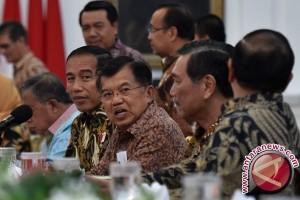 Mayoritas publik puas kinerja Jokowi