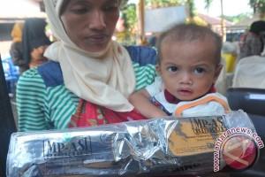 97 balita di Bengkulu kekurangan gizi